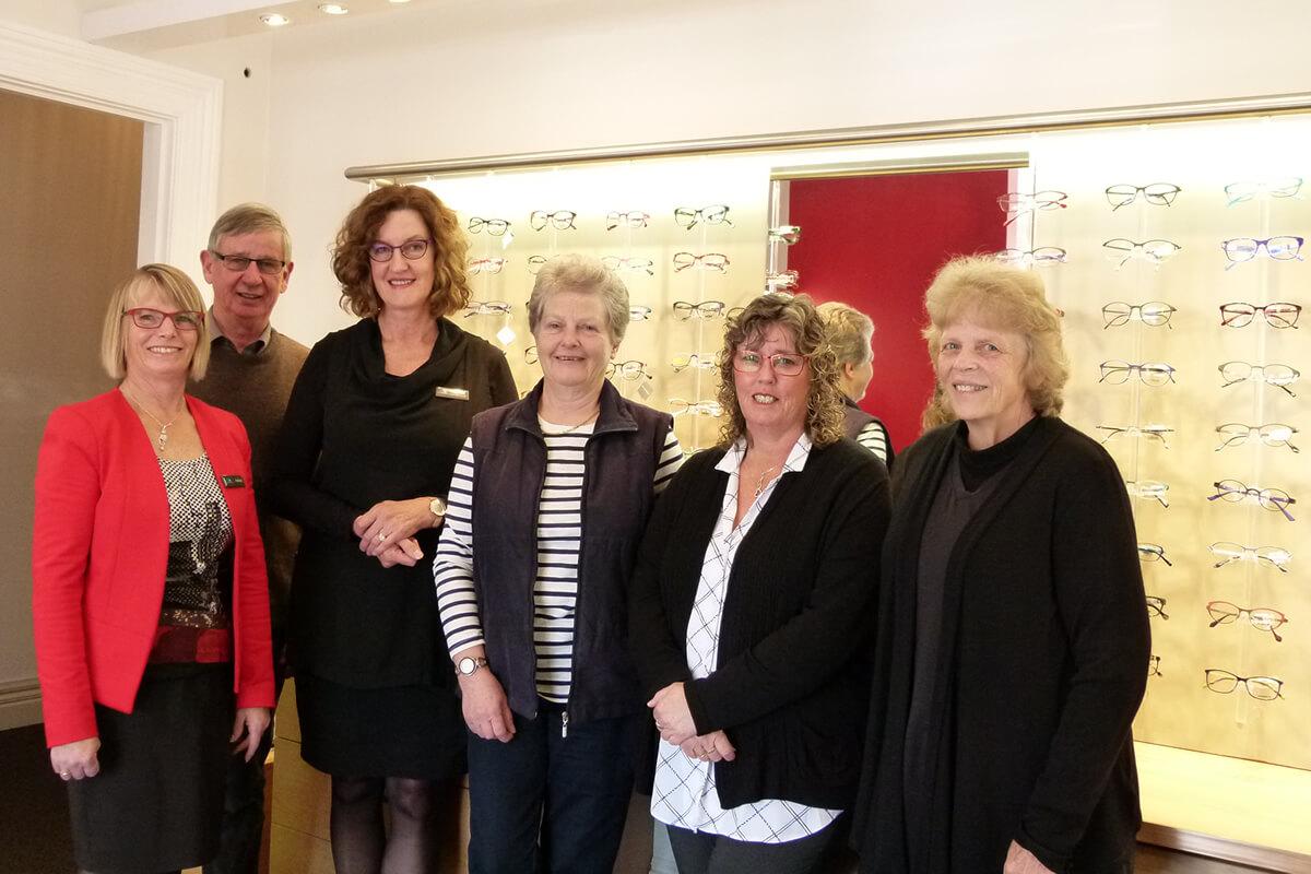 Team Members At Noel Templeton Optometrists