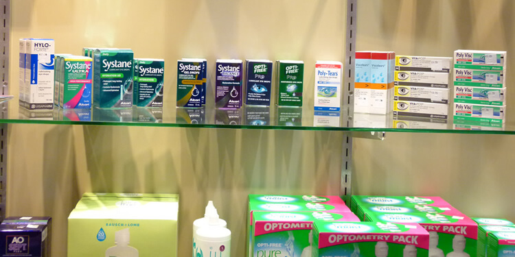 Eye Drops And Lens Solutions Available At Noel Templeton Optometrists
