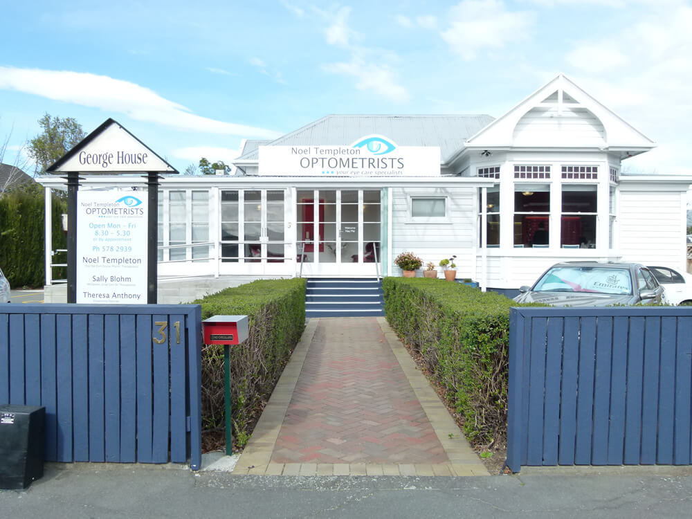 Location Of Noel Templeton Optometrists In Blenheim