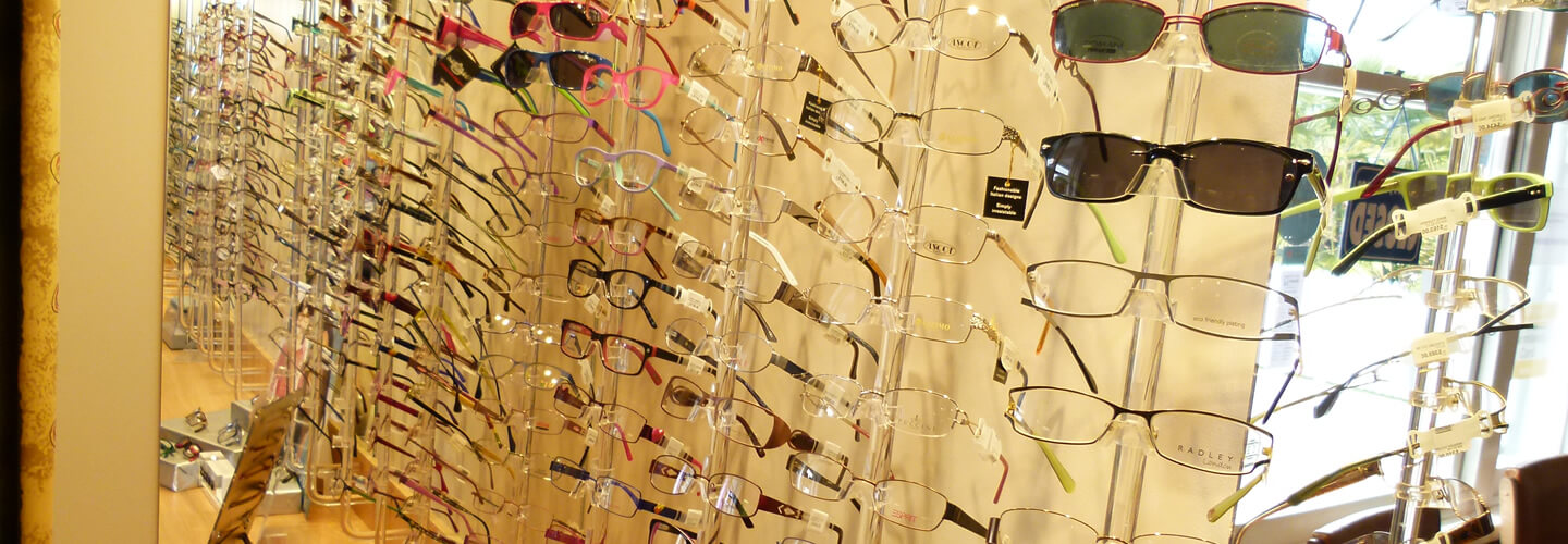 Selection Of Eyeglasses And Sunglasses At Noel Templeton Optometrists In Westport